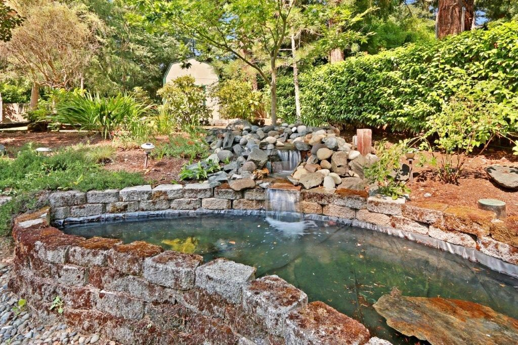 Pond and Waterfall - 6703 79th St W