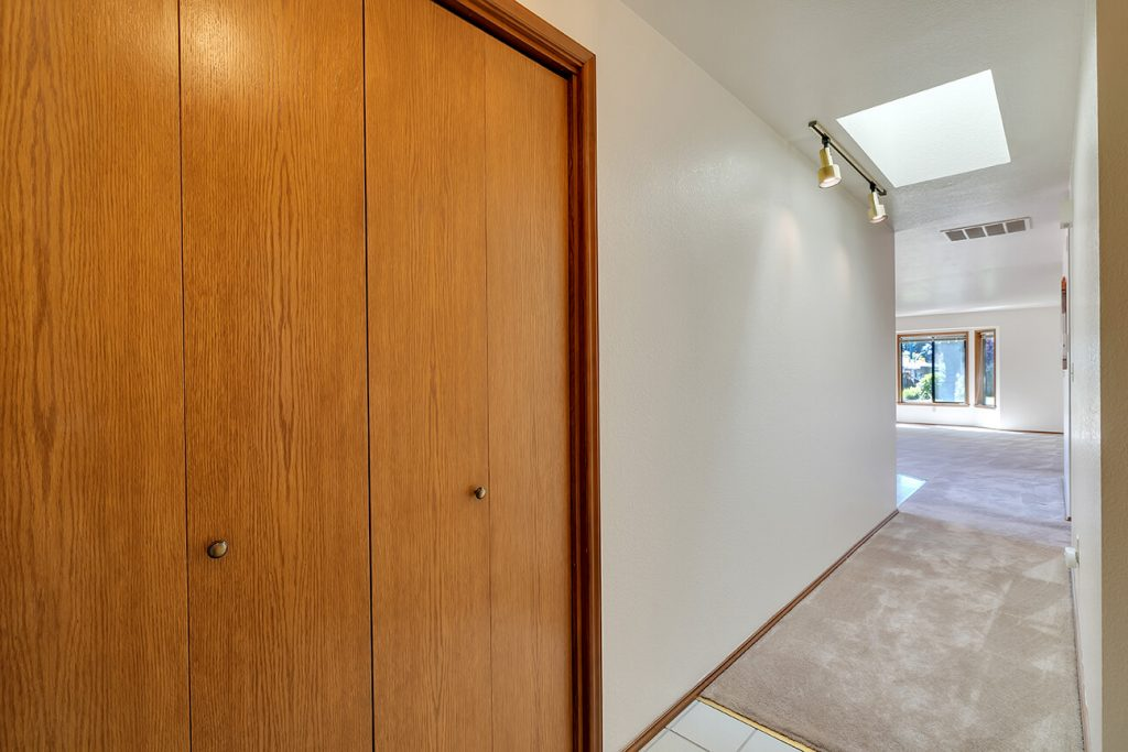 Upon entering you will notice how immaculately maintained this home is. You will also notice the natural light flooding in through the skylight and extensive bay windows.
