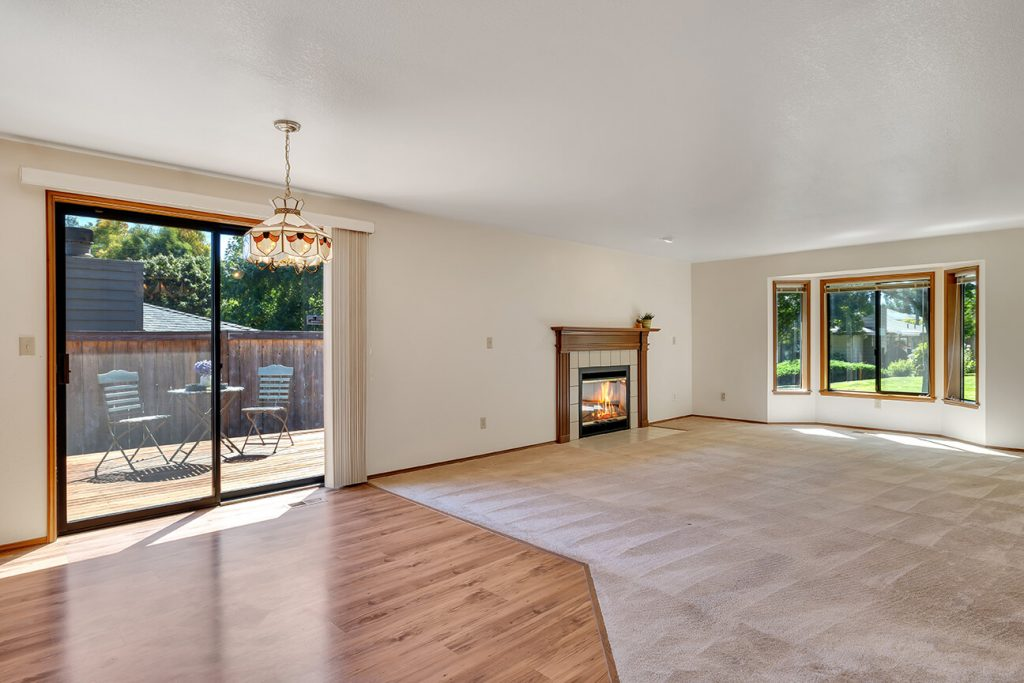 The open floorplan makes this condo feel larger than it is.